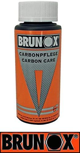 Brunox Carbonpflege Spritzflasche, Orange, 100 ml