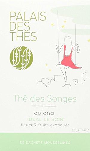 Palais des Thés Thé des Songes Chinese Oolong Tea, 20 Tea Bags (40g/1.4oz)