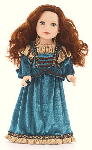 Little Adventures Scottish Princess Matching Doll Dress