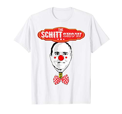 Pencil neck adam schiff shirt schitt show funny trump quote