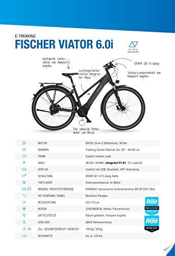 E-Trekkingbike FISCHER Damen EBike VIATOR kaufen  Bild 1*