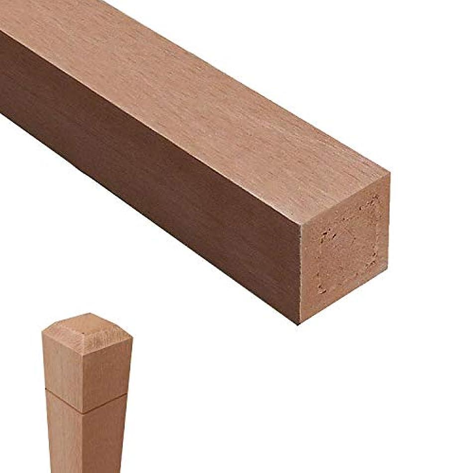 協力する愛情深いささいな無垢タイプ アイウッド人工木無垢材ラティスポスト H210cm×6cm角4本セット ナチュラル igarden アイガーデン