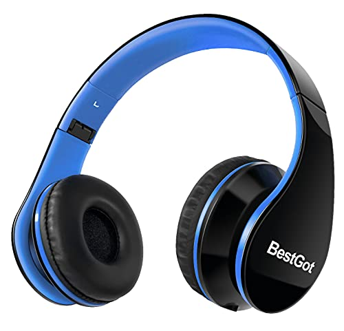 BestGot Kids Headphones Over Ear Wired with Microphone Volume Control...