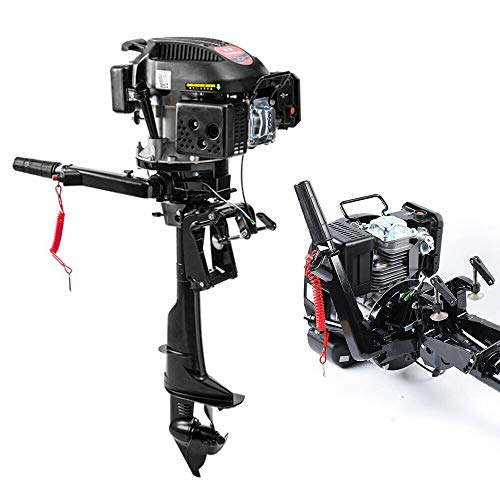 TFCFL 6HP Outboard Motor 4 Stroke Fishing Boat Engine CDI Air Cooling System 3.75KW