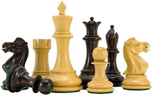 tienda de venta The Regency Chess Company Sicilian Serie Serie Serie Palisandro Piezas De Ajedrez 9.5cm  punto de venta barato
