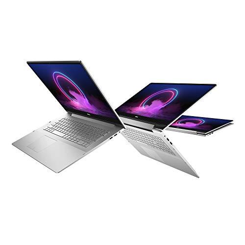 Dell Inspiron 17 2-en-1 7791 Ordinateur Portable Tactile Convertible 17,3' Full HD Silver (Intel Core i5, 8Go de RAM, SSD 256Go, NVIDIA GeForce MX250 2Go, Windows 10 Home) Clavier AZERTY Français