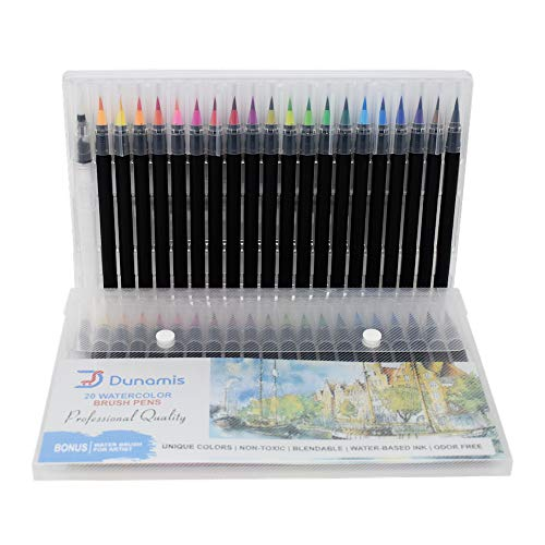 Dunamis Watercolor Brush Pens, Calligraphy Pen, Best Real...