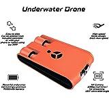 AHELT-J Unterwasser-Drohne, Smart Robot Fish Explorer Kamera Drohne Tauchen Bootfahren Erwachsene...