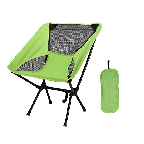 ZSBYREKA Portable Compact Folding Beach Chairs,Portable Compact for Outdoor Camp, Travel,Fishing, Beach, Picnic, Festival, Hiking.