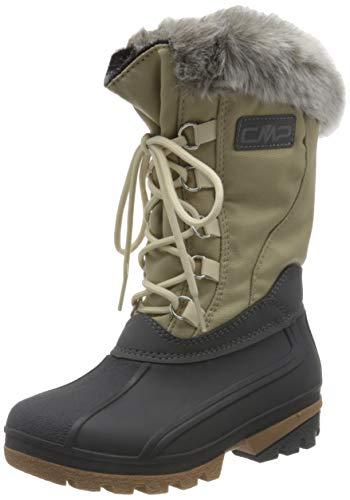 CMP Girl POLHANNE Snow Boot, SAND, 33 EU