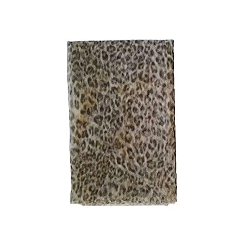 YSJUN - Tessuto a rete in tulle con stampa leopardata fai da te per baby shower, cucito da principessa, decorazione da parete (colore: 2, dimensioni: gratis)