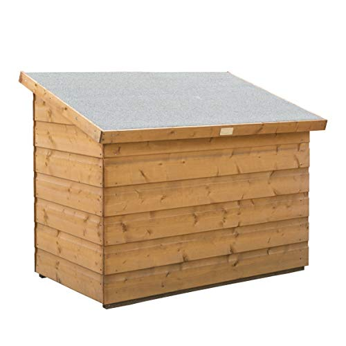 Rowlinson Patio Storage, Chest, Shed, Honey Brown