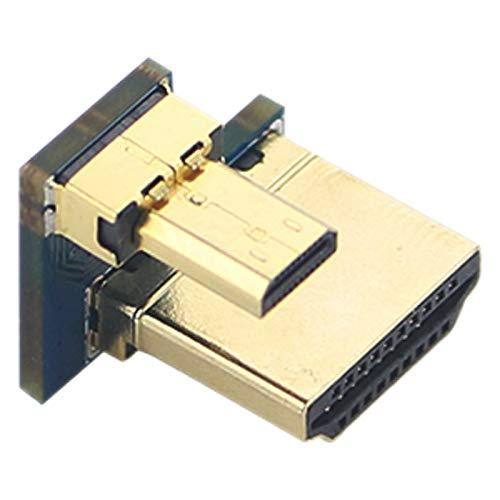 Tamkyo Adaptador Pastall para Raspberry Pi 4B, Macho una Macho Adaptador Convertidor Conector de Alta Velocidad