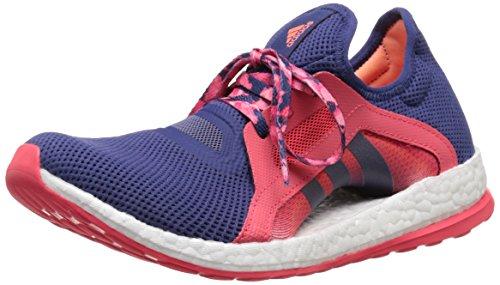 Adidas Performance Women's Pure Boost X Running Shoe,Raw Purple/Raw Purple/Shock Red,10 M US