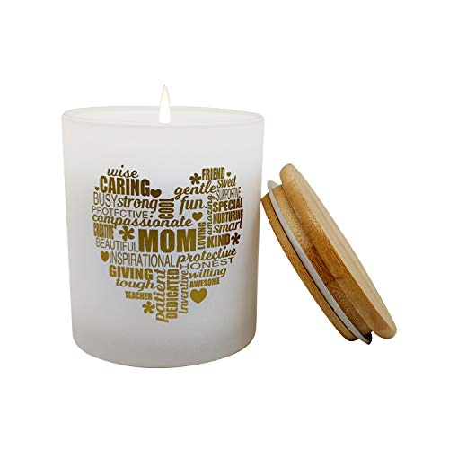 Mami Home Scented Mom Candle -for Loving, Inspiring Moms. Ideal, Thoughtful Uplifting Healing Gift for Mom's Birthday, Gifts for Mother's Day, I Love You Mom Candles(Lavender Vanilla, 10oz)