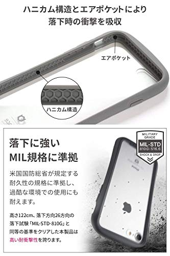 iFaceReflectioniPhoneXS/Xケースクリア強化ガラス[グレー]