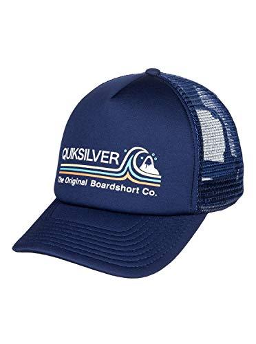 berretto quicksilver uomo Quiksilver Standard AQYHA04568 - Berretto da uomo Blazer blu marine Taglia unica