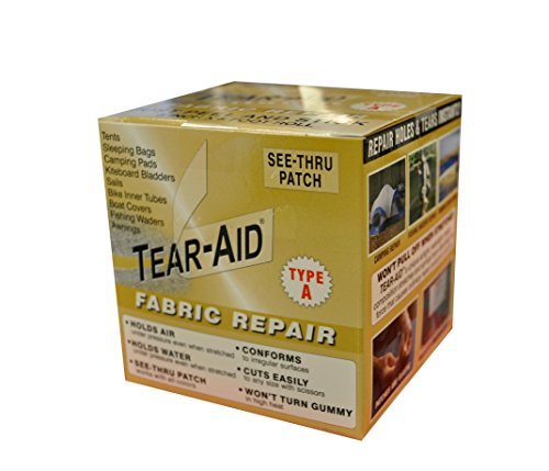 Best Price! Tear-Aid Fabric Repair Kit, 3 in x 5 ft Roll, Type A
