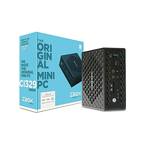 Mini PC Zotac ZBOX - Intel N4100 - HDMI - USB 3.0 - WLAN - Infrarot - Cardreader - Windows 10 Professional *frei konfigurierbare Hard- und Software (fertig installiert)*
