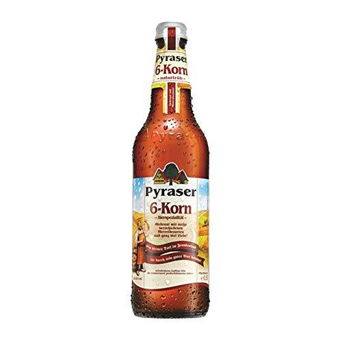 Birra Tedesca Bionda - Pyraser 6 Cereali - Cassa con 20 Bottiglie da 0,50 L.
