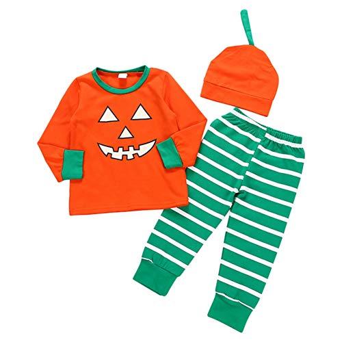 Halloween Kürbis Passendes Bruder Outfit Big Brother Kurz und Hosenhut Set Little Brother Strampler Fashion Baby Kostüme