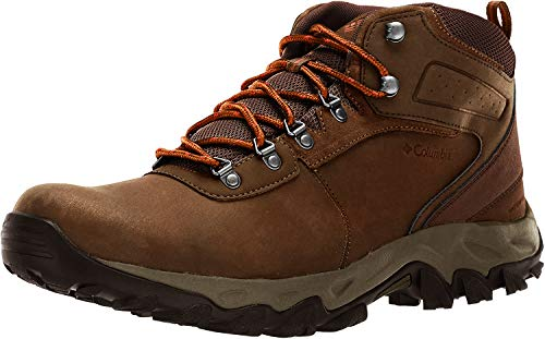 Columbia Men's Newton Ridge Plus Ii Hiking Shoe, Dark Brown/Bright Copper, 11 M US