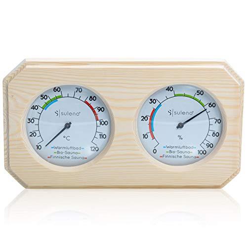 SULENO Sauna Klimamesser Thermometer Hygrometer ANNA CLASSIC