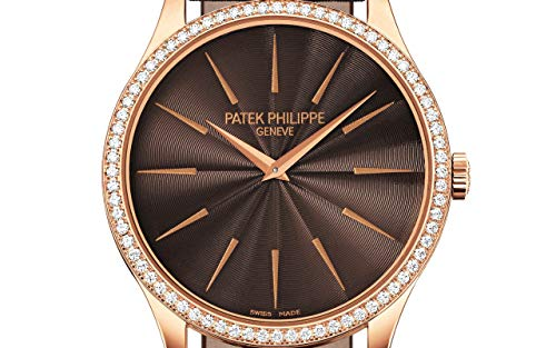 Patek Philippe Calatrava Rose Gold 4897R-001 with Chocolate Brown Guilloched dial