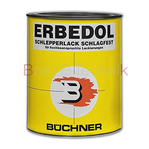 Erbedol Krone-rot = RAL 3000 Büchner Lack Kunstharzlack Farbe 750ml 0620 4663
