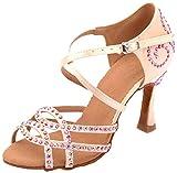 MGM-Joymod - Sandalias de baile latino para mujer., color Rosa, talla 36.5 EU