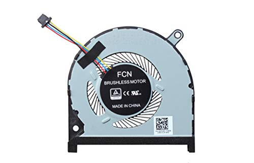 HuiHan Replacement for Dell Inspiron 7590 7591 Laptop CPU Cooling Fan 0MPHWF