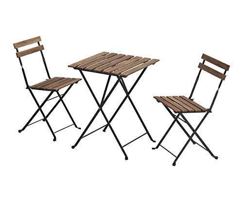 SUNBURY Outdoor 3 Piece Folding Chair and Table...