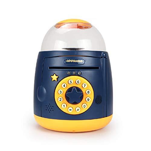 household items Hucha electrónica, Mini alcancía con contraseña de cajero automático, Caja Fuerte de Dibujos Animados para niños, Regalos de Juguete para niños y niñas