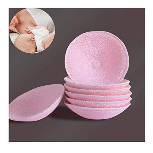 Almohadillas de Lactancia,Osuter 8PCS Discos Absorbentes Lactancia Orgánicos Lactancia Lavables Super Suave Algodón Protector para Lactancia para Usar de Día o de Noche