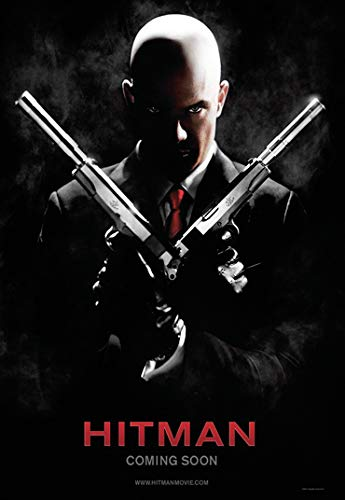 Hitman Movie Poster Prints Wall Art Decor Unframed,32x22 16x12 Inches,Multiple Patterns Available