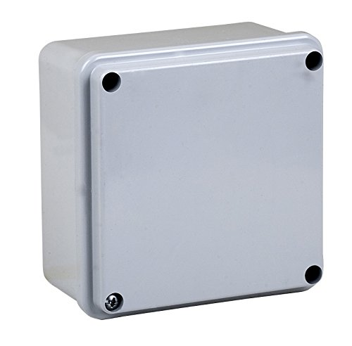 Electraline 60557 Distribution Box Glatte Aufputz 100 x 100 mm, IP56