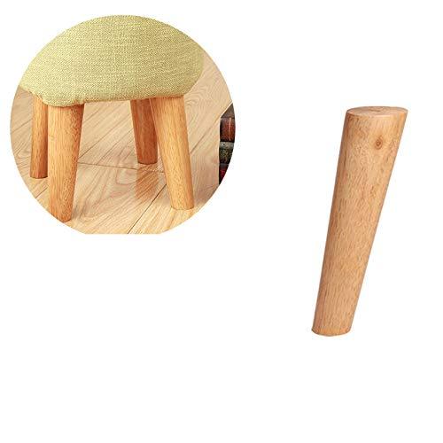 Verdelife Möbelfüße aus Holz, konisch, für Sofa, Hocker, Stuhl, Tisch, Möbel, Beine (2 Größen)