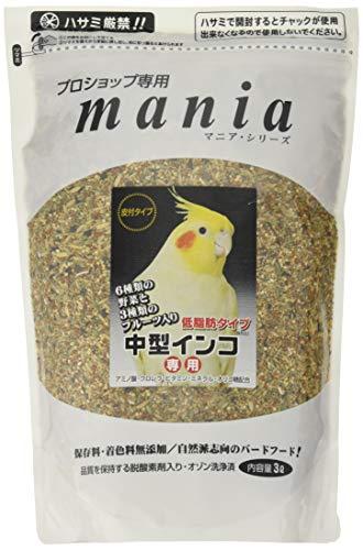 Mania Professional Shop Only Medium Parakeet Low Fat 3L