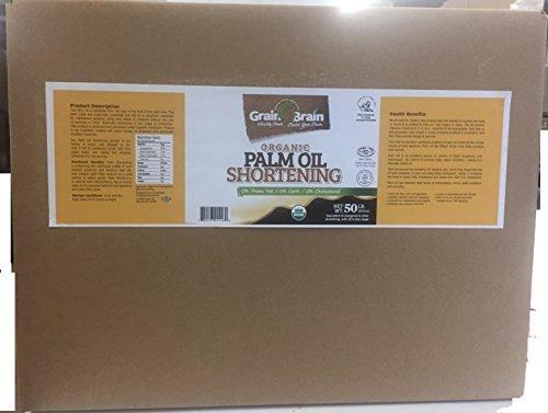 Grain Brain Organic Palm Shortening (50 lb)