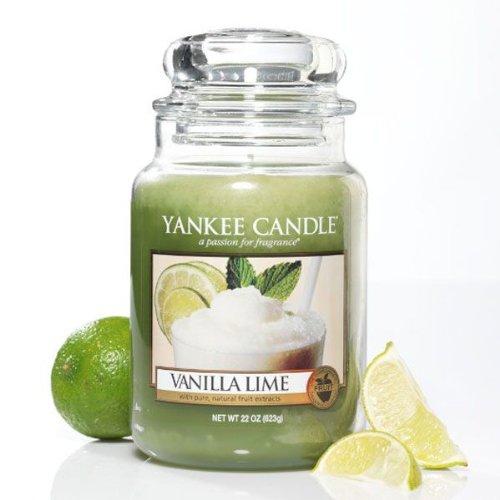 Vanilla Lime Grosses Glas