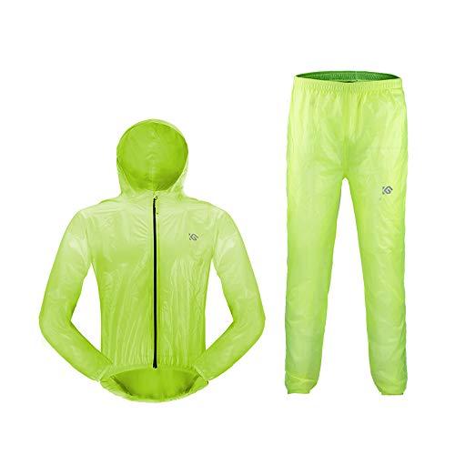 AINUO Jersey Impermeable para Hombres y Mujeres Bicicleta de montaña Bicicleta eléctrica...