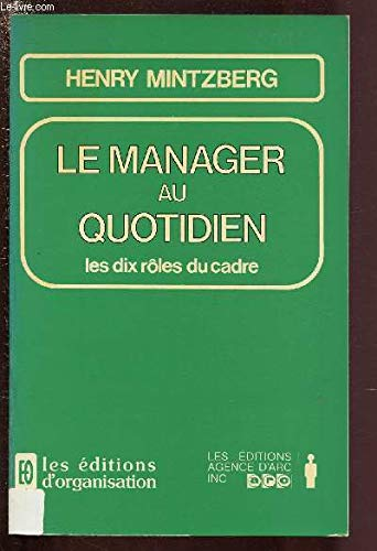 Le manager au quotidien