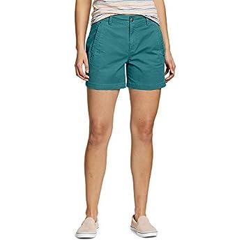 Eddie Bauer Women s Cityscape Shorts Reef Regular 8
