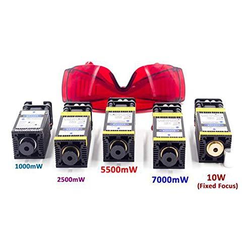 MEICHEN Modulo Laser per CNC Legno Router DC12V Ttl PWM 1W 2.5W 5.5W 7W 10W Mini Incisione Laser Macchina Fai da Te CNC Engraver del Laser Stampante