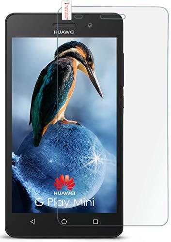 moex 9H Panzerfolie für Huawei G Play Mini | Panzerglas Bildschirm Glasfolie [Tempered Glass] Screen Protector Glas Bildschirmschutz-Folie für Huawei G Play Mini/Honor 4c Schutzfolie