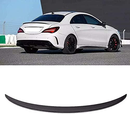 Alerón trasero de coche, cubierta de maletero, alerón, para estilo AMG apto para Mercedes-CLA Clase C117 Coupe CLA45 2013-2019, estilo de alerón trasero de coche, decoración de estabilidad del vehíc