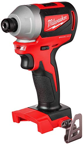 Milwaukee M18 285020 18Volt 1/4Inch Brushless Impact Driver  Bare Tool