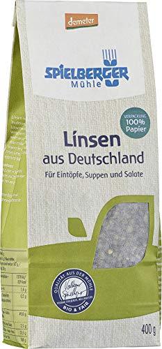 Spielberger Bio Linsen aus Deutschland, demeter (6 x 400 gr)