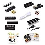 ttheena kit sushi maki   moule à sushi avec manche   e-book de recettes originales avec plus de 40