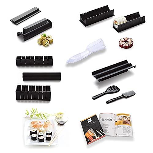 TTHEENA Kit Sushi Complet | Moule à Sushi | E-book de...